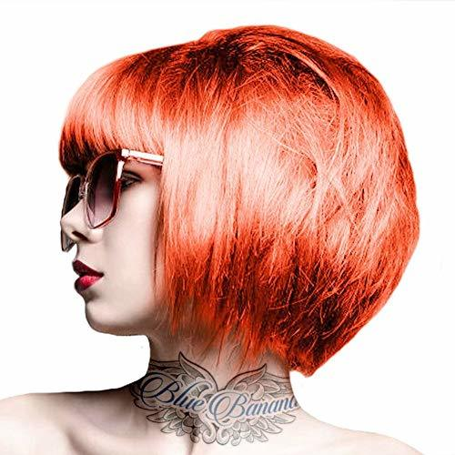 Renbow Crazy Color Semi Permanent Hair Color Cream Orange No.60 100ml by Renbow