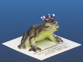 Birthstone Frog Prince Kissing October Tourmaline Miniatures by Hagen-Renaker image 2