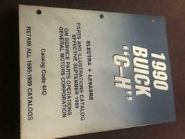 1990 BUICK Electra & Lesabre Parts Illustrations Catalog Manual OEM - $45.62