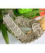Vintage Republic of San Marino Italy Mini Faux Coins Souvenir Bracelet - $22.95
