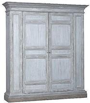 Storage Cabinet DOVETAIL KILDUFF Dark White Blue Reclaimed - $5,619.00