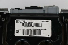 GMC Acadia Chevrolet Traverse Saturn Bose Amplifier Bose 25796753 image 4
