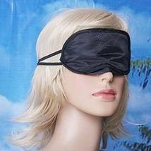 5X Charmeuse Silk Sleeping Mask Eye Cover Nap Blindfold Dbl Layer Light ... - $15.11 CAD