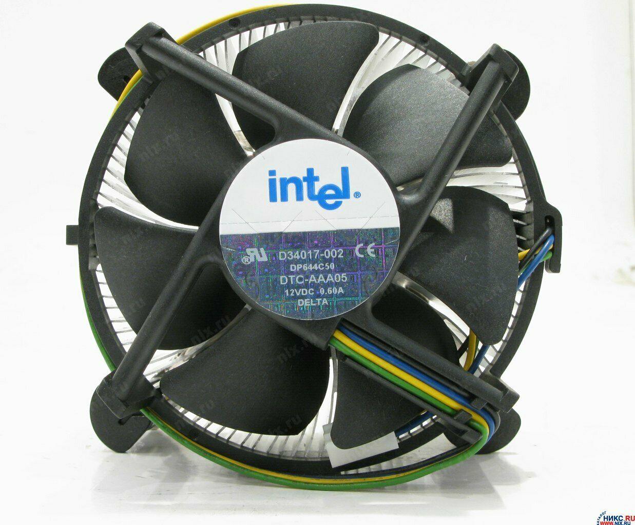 Intel D34017-002 DTC-AAA05 12V 0.66A Heatsink / Fan - $15.00