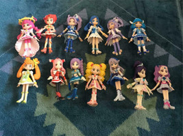 Lot of 12 Pretty Cure Precure Figure Doll set Used - $147.99