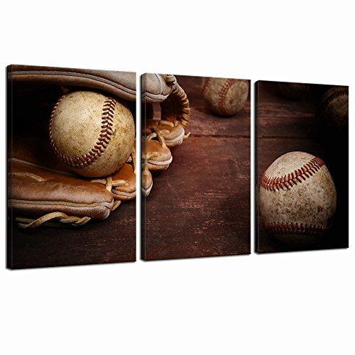Live Art Decor Old Vintage Baseball Wall Art Sports Canvas