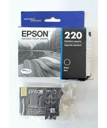 Epson Ink Cartridge, Black, 220, Std Capacity, Dura Brite Ultra, Best By... - $17.77