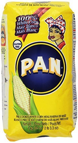 P.A.N Harina Blanca - Pre-cooked White Corn Meal 2lbs 3.3oz