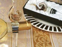 Murano Art Deco Collection Wine Stopper C2751 Quantity of 1 - €7,91 EUR