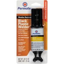 Black Plastic Welder Adhesive Epoxy Repair Kit Weather Resistant Vinyl B... - $9.55