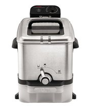 T-Fal FR8000 Deep Fryer with Basket, Oil Fryer with Oil Filtration, Easy to Clea image 2
