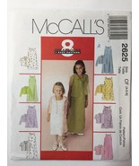 McCall's 2625 Size 4-5-6 Children's Dress in Two Lengths Shirt Jacket - $11.64