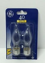 Ge Lighting 40WATTS 2 Light Bulbs, Free Shipping - $7.38