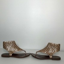 Cole Haan Sandals Size 5 B Side Zipper   Soles are very worn - $27.72