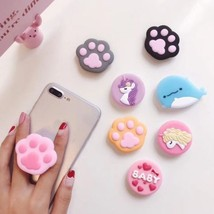 Pop up Cute Bearfoot cony Ring bracket base Phone Holder Stand Finger Po... - $5.59