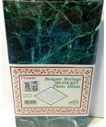 "Pioneer STC35-D Photo Album Pocket 3-Ring Binder Album 3.5"" x 5.25"" Gree... - $19.33"