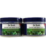 2 Count Dr. Teals Pure Epsom Salt Exfoliate Renew Lavender Body Scrub US... - $29.99