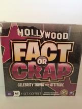 Hollywood Fact or Crap Family Board Game Celebrity Trivia w/ Attitude NIB - $12.13