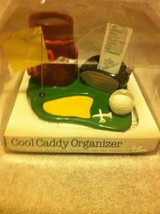 GOLF DESK ORGANIZER--COOL CADDY--GOODS GALLERY--CERAMIC--FREE SHIP---NEW - $514,48 MXN