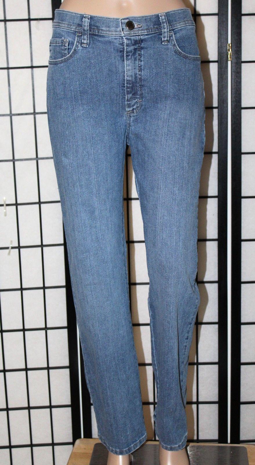 "LEE Classic Fit Women's Size 12 Short Straight Leg Stretch Jeans 29"" Inseam EUC"