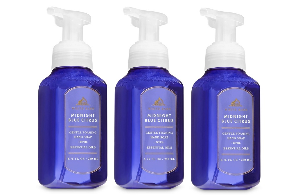 Wb midnight blue citrus foaming 3 pack