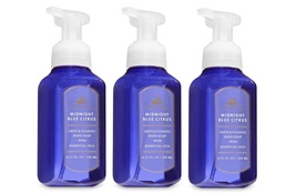 Bath & Body Works White Barn Midnight Blue Citrus Foaming Hand Soap 3 Pack - $18.99