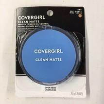 COVERGIRL - Clean Oil Control Pressed Powder Soft Honey - 0.35 oz. (10 g)  EB5 - $16.45
