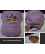 THE SISTERHOOD Purple Baseball Hat NWT Homefront Military Gaby Juergens - $12.99