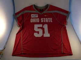 Ohio State Buckeyes Stitched Nike Team Lacrosse Jersey Sz 2XL XXL #51 - €35,19 EUR