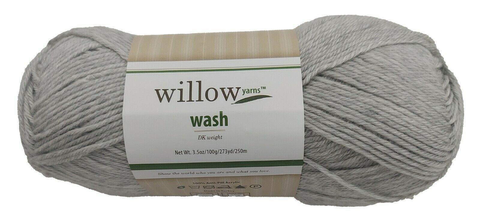 Willow Yarns Wash, DK Weight, Silver Birch Yarn #732251
