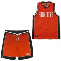 Primitive Apparel Champs Basketball Set Electric Rot - $110.10