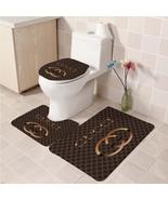 Hot Sale Gucci555 Toilet Set Anti Slip Good For Decoration Your Bathroom  - $20.09
