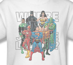 Ue dc comics batman superman wonder woman flash for sale online graphic tee 4 jla214 at thumb200