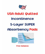 "200- 23x24"" SUPER Absorbent QUILTED Incontinence Pads Extra Protection - $41.75"