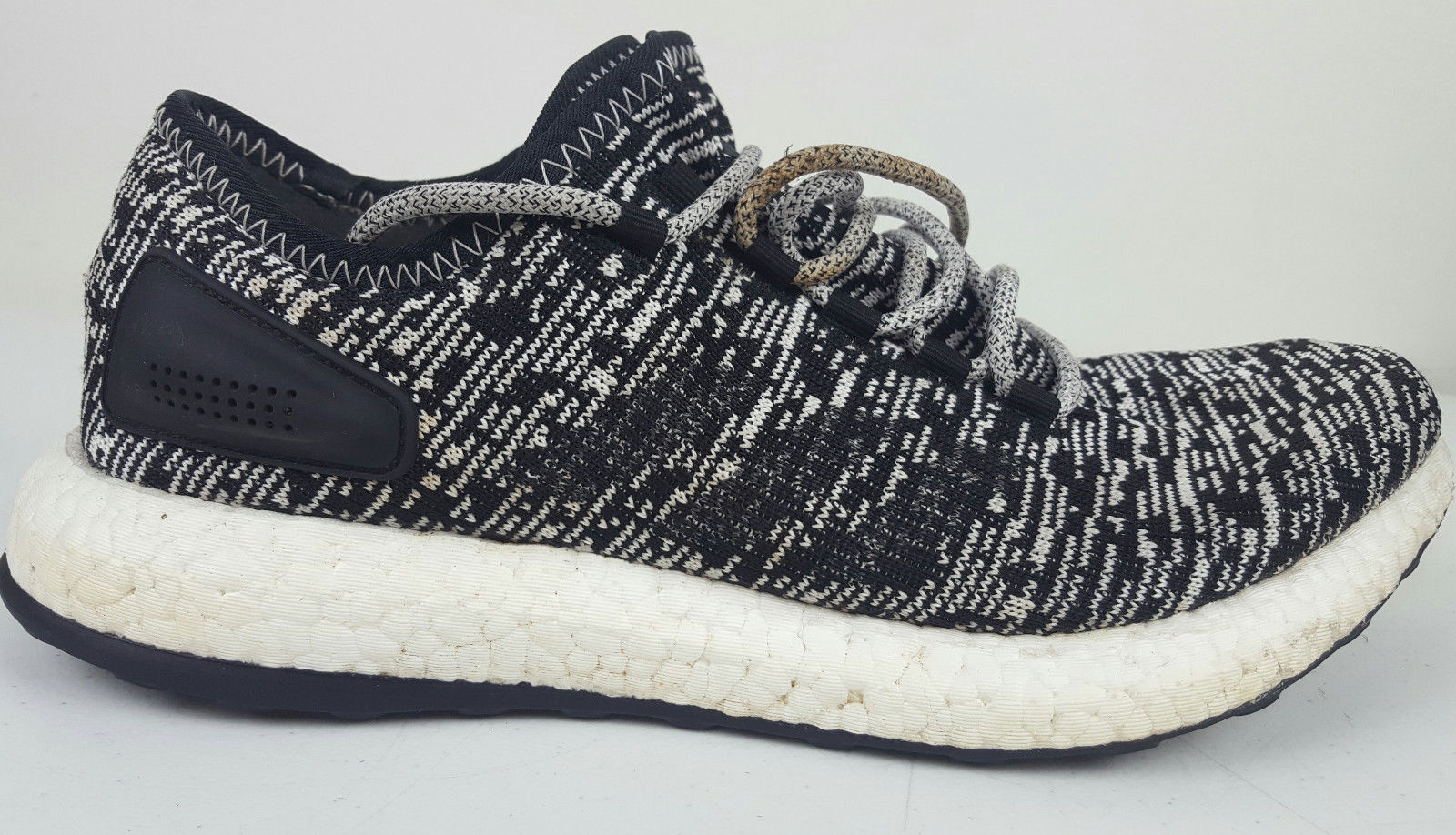 1593319f07390 S l1600. S l1600. Previous. 2016 Adidas Pure Boost Oreo Core Black White  Men s Running Shoe Sz 10 BA8890