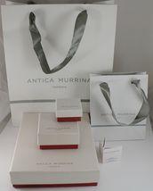 ANTICA MURRINA VENEZIA 15 MM DISCS PENDANT 4 CM EARRINGS DISC RED & WHITE image 4