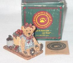 Boyd Bearstone Resin Bears Bailey In The Orchard Figurine #2006 18E NEW IN BOX image 4