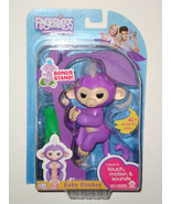 WowWee PURPLE MIA Finger Pet Baby Monkey  - $17.99