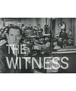 THE WITNESS (1960) 10 Episodes (Very RARE) - $12.95