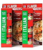2 McCormick 1.17 Oz Flavor Makers Italian Rosemary & Marjoram Leaves Red... - $17.99