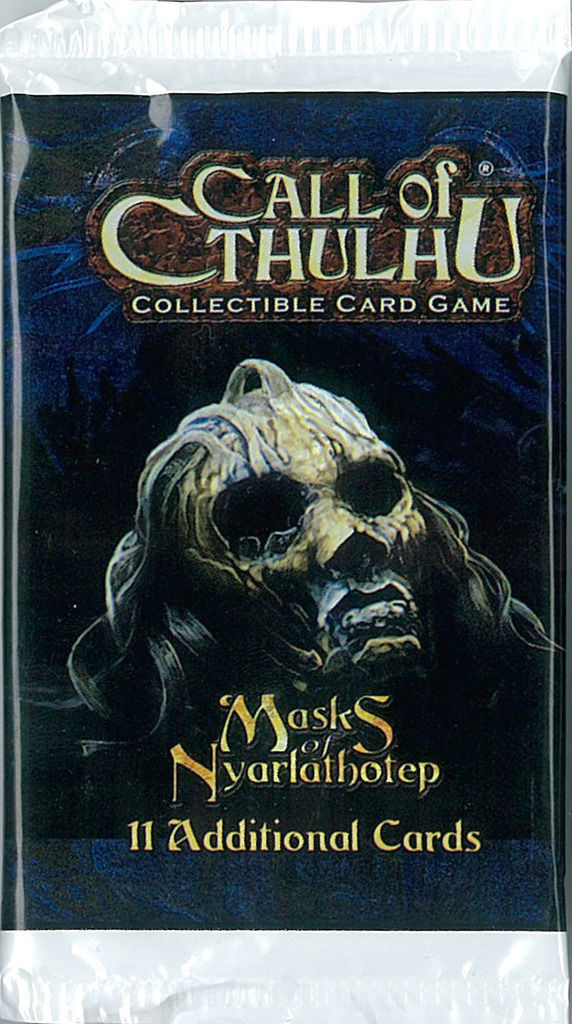 Fantasy Flight Call of Cthulhu Masks of Nyarlathotep 33-Booster Box (CCG) (2005)