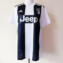 NWT New Adidas Juventus Soccer Football Futbol Jersey Jeep Black White Medium - $74.99