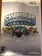 Skylanders Spyro's Adventure (Nintendo Wii, 2011) - $2.77