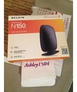 1 Belkin WiFi Internet Router PC & MAC Windows FREE SHIPPING - $25.00