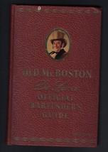 Old Mr Boston De Luxe Official Bartender's Guide 1940 (4th Print) - $26.77