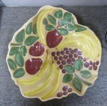 Vintage Gildart - Large Fruit Bowl - Handpainted - $58.41