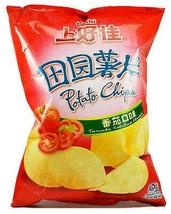Oishi Chips Potato Chips Tomato, 3 Pack - $16.46