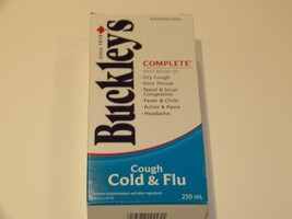 BUCKLEY'S COMPLETE COUGH COLD & FLU SYRUP 250mL... - $19.55