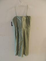 New Green Beige Ann Taylor Women's Sleeveless Evening Shift Dress Size 16P - $49.99