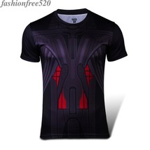 Marvel Superman Ultron T-Shirts Slim Fitness Tee Casual Sportwear Cosplay Tops - $4.99